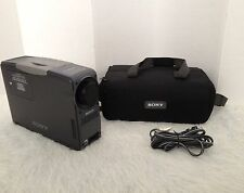 Sony CPJ-D500 Portable LCD Data Projector Bundle Sony Carrying Bag Power Cable