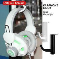 Headphone Holder Universal Headset Hanger Wall Hook Earphone Headphones X3U1