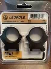 Leupold Prw2 Scope Rings 30mm High Matte Black 174085