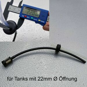 Benzinfilter Benzinschlauch Set Dichtung 22mm Ø für Motorsense Heckenschere