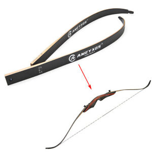 1 Pair Recurve Bow Limbs 20-50lbs Takedown American Hunting Bow Archery Shooting