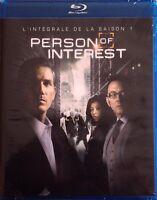 PERSON OF INTEREST - saison 1 // BLU RAY neuf