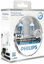Philips WhiteVision Xenon Effect 2x H4 + 2xW5W (12342WHVSM) 12V 60/55W bis 4300K