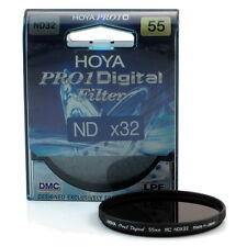 Hoya 55mm Pro 1 Digital Neutral Density 32x Lens Filter (5 stops) ND32 DMC LPF