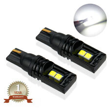 T10 Canbus LED License Plate Light Bulbs 6000K Bright White 168 2825 194 2PCS