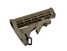 SNIPER Commercial Butt Stock  Buttstock Tan Carbine Advanced Complete Spec