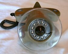 Vintage MILITARY AIRPLANE PHONE ROTARY TELEPHONE Northern Telecom Camoulfage