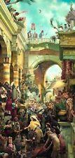Tom duBois HOSANNA Canvas - Jesus Christ S&N with coa Son of David Matthew 21:9