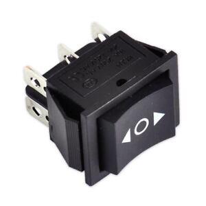6pin 3 Position DPDT ON OFF Rocker Switch Interrupteur bascule Pour voiture moto