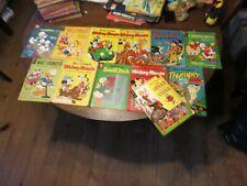 1950's/60's Disney Comic Book lot Mickey Mouse, Donald Duck, WDC&S, etc