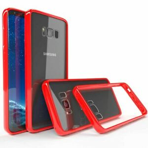 For Samsung Galaxy S9+ Cover Red Case Shockproof Back Slim Bumper Red Protective