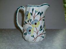 Blue Ridge china pottery Anniversary song spiral pitcher