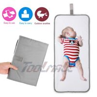 Waterproof Baby Diaper Travel Home Change Pad Changing Mat Organizer Bag 64*30cm