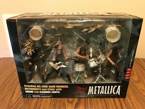 McFARLANE METALLICA HARVESTERS OF SORROW SUPER STAGE FIGURES SET