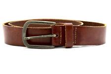 Jack & Jones Mens Leather Belt Brown Size 38