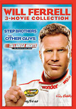 Will Ferrell 3-Movie LOL DVD Talladega Nights, Step Brothers, The Other Guys