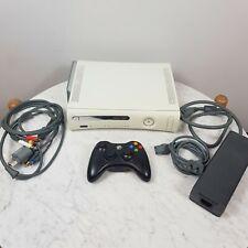 MICROSOFT Xbox 360 20Gb White Console + 1 Wireless Controller (Aus Seller)