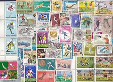 2000 Different SPORTS ON STAMPS,  A HUGE COLLECTION