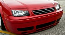 VW Jetta MK4 4 Grill+Spoiler Cover Euro Upper Hood Headlight-Trim Eyelid Eyebrow