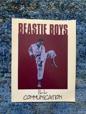 Beastie Boys Ill Communication Vintage Decal Cling Sticker