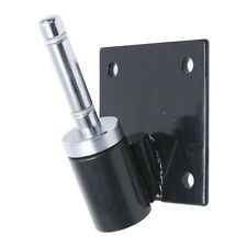 25° Flag Pole Angled Bracket with Rotating Spindle: Teardrop Feather Sail Flags