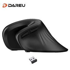 DAREU Ergonomic Vertical Wireless Mouse 2.4Ghz Optical skin 6 Buttons
