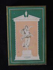 Ancienne Boite de parfum L.T. Piver Pompéia parfumerie collection.