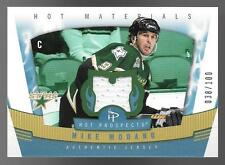 06/07 Fleer Hot Prospects Hot Materials #MM Mike Modano Jersey Card #038/100