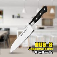 SAMURA 7 In Santoku Knife AUS-8 Japanese Stainless Steel G10 Kitchen Chef Blade