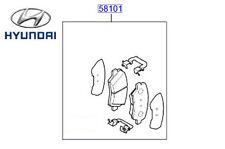 Genuine Hyundai i10 Front Brake Pad Kit - 58101B9A70