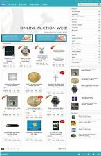 AUCTION WEBSITE BUSINESS FOR SALE! with 130 LISTINGS! MOBILE FRIENDLY DESIGN