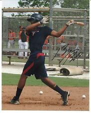 Byron Buxton Autographed 8x10 Photo Signed Twins Prospect 2012 2nd Overall Pick