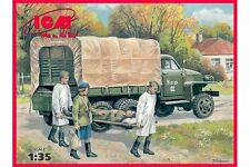 ICM 35513 1/35 Studebaker US6 With Soviet medical personnel