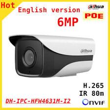 Dahua IPC-HFW4631M-I2 6MP H.265 POE IP67 IR80M WDR ONVIF Outdoor camera 3.6MM
