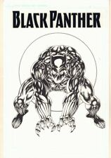Black Panther Cover-esque Commission - Signed art by Ron Wilson Comic Art