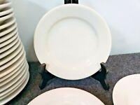 "24 Buffalo China bread plates Restaurant Ware Farmhouse Diner 6 1/4"" Cottagecore"