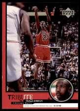 1999-00 Upper Deck Tribute To Jordan #30 Michael Jordan Chicago Bulls