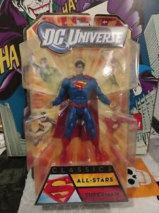DC UNIVERSE CLASSICS ALL-STARS SUPERMAN ACTION FIGURE