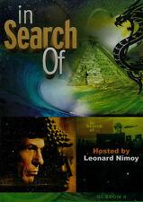 LEONARD NIMOY In Search Of  Season 4 (3-DVD Set) NEW, BUT UNSEALED! Region 1
