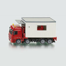 SIKU Mercedes-Actros Truck with removable garage 1:50 Scale toy model NEW #3544