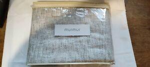 Murmur Homebase Large Linen Throw 130 x 170cm Grain natural