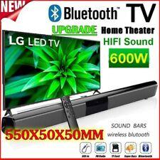 Home Theater TV Soundbar Wireless Bluetooth Sound Bar Speaker w/ Remote Control