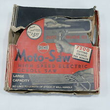 Vintage Dremel Moto-Saw Scroll Saw Working Condition ~ extra blades