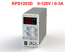 Mini Adjustable Switch DC Power Supply KPS1203D Output 0-120V 0-3A AC110-220V