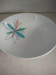 Mid Century Seafoam Mint Green Shenango China Serving Bowl and Platter
