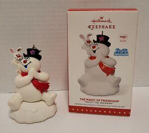 The Magic of Friendship-Frosty the Snowman 2015 Hallmark Keepsake Ornament