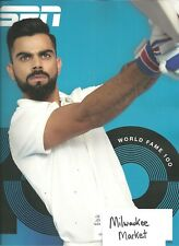 ESPN June 4 2018 Virat Kohli World Fame 100 Free Fast SnH Best Deal Ebay L@@K !!