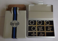 Avon Business Card Holder with noughts & crosses game.Great Gift Idea.New Boxed