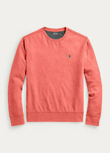 Polo Ralph Lauren Men's Cotton Blend Sweatshirt Jersey Red heather Size 3XB 3XL