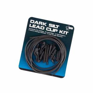 Nash Lead Clip Kit Dark Silt or D-Cam (Diffusion Camo)